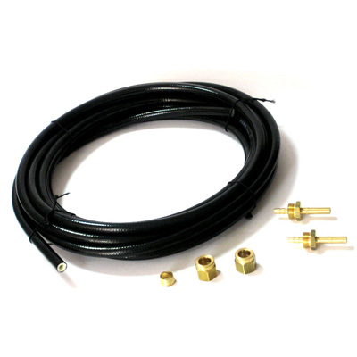 Трубка термопластиковая газовая димаметр Ø- 6, 6м, ком-т, с фитингами, пропан. Магистраль Гбо.