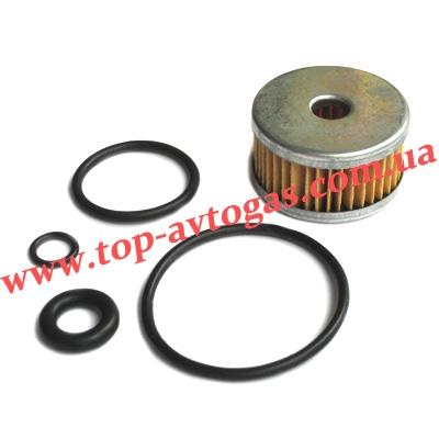 Фильтр электроклапана газа Tomasetto, с резин. кольцами, пропан Czaja