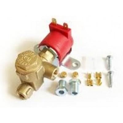 Электроклапан газа пропан ROYALGAS,(пропан-бутан) малый с боковым фильтроэлементом, вход D6 (M10x1), выход D6 (M10x1)