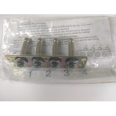 Ремкомплект форсунок OMVL Genimi 4 ц.(в алюминевом корпусе полный набор на планку)