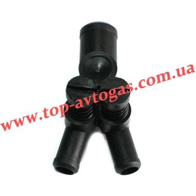 Дозатор газа d19х12х12, с 2-мя рег.винтами, пластиковый, BRC
